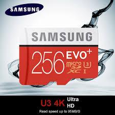 Memory Card Samsung 256gb samsung 256g micro sd card in memory card 256gb evo evo plus