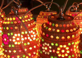 Tiki Patio Lights Vintage Lawnware Patio Lights Tiki Lights Outdoor