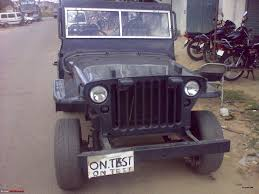 jeep dabwali people making ford gpw types at will team bhp