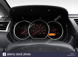 silver nissan versa 2007 nissan versa 1 8 s in silver speedometer tachometer stock