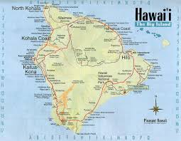 Maps Of The Usa Detailed Map Of Big Island Of Hawaii With Roads And Other Marks