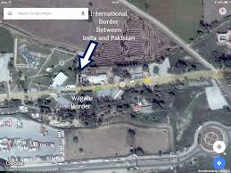 Google Map India by Apple Maps Show Wagah Border In Pakistan