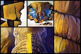 3d murals for mines shopping center u2013 art misfits