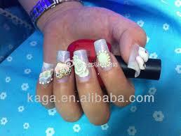 fashion 3d nail art design kaga professional sculpture gel acrylic