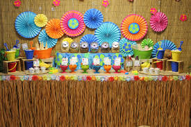 luau decorations luau party birthday ideas decorating kid s birthday party with