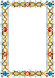 immagini cornici per bambini cornicette e disegni a quadretti con greche decorative per bambini