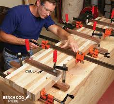 table top glue up dream workbench popular woodworking magazine