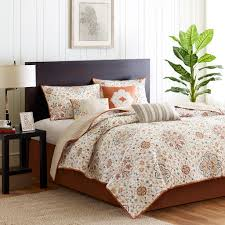 Baby Coverlet Sets Bedroom White Floral 6 Piece Coverlet Sets