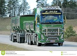 volvo heavy haulage trucks for sale green volvo fh16 750 truck for construction editorial image