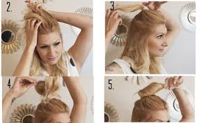 hairstyles with steps 6 steps for casual beauty of your hair chikk net