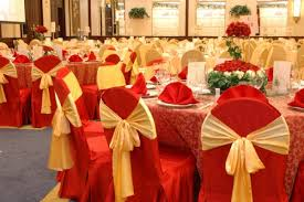 Red And Gold Reception Decoration Red And Gold Wedding Decorations Home Decorating Ideas