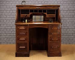 Small Roll Top Desks by Small Oak Roll Top Desk C 1920 Antiques Atlas