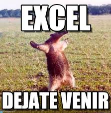 What Is A Meme Exle - excel oso arecho meme on memegen