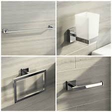 Valsan Bathroom Accessories Uk Chrome Bath Accessory Sets Ebay