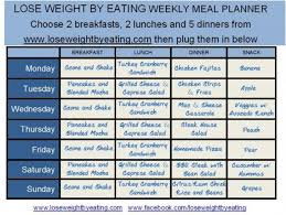 printable meal planner with calorie counter 1200 calorie meal plan for fast weight loss lose weight by eating