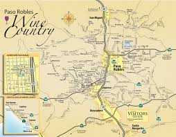 California Wine Country Map Paso Robles Wine Tours From Fresno Best Ideas Of Wine
