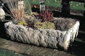 large garden troughs large alpine trough garden planter large