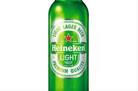 like light beers crossword heineken unveil the newest beer to join their range heineken light