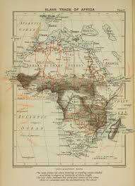 Regions Of Africa Map by A Map Of The Slave Trade In Africa That Shows The Regions Of Most