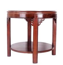 Drexel End Table by Drexel Heritage Round End Table Ebth