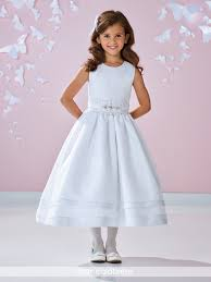 where to buy communion dresses sleeveless tea length flower girl communion dress 117361