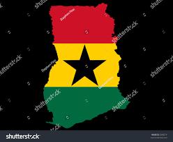 Map Of Ghana Map Ghana Ghanaian Flag Illustration Stock Vector 2948274