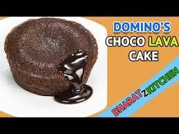 dominos choco lava cake recipe homemade eggless molten lava cake
