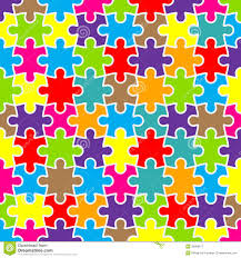 abstract puzzle background with colorful pieces royalty free stock