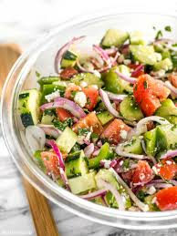 super fresh cucumber salad budget bytes