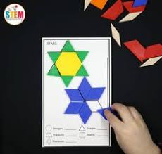pattern blocks math activities outer space pattern block mats pattern blocks pre school and spaces