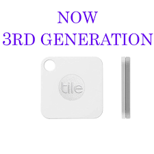 tile gps 3rd gen bluetooth tile mate mini tracking device for