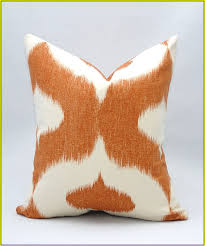burnt orange throw pillows home design ideas