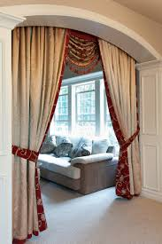 Valance Curtains For Living Room Louis Xvi Royal Red Swag Valances Curtain Drapes