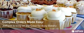 the cakes complex orders made easy jotform is icing on the cake for busy bakery
