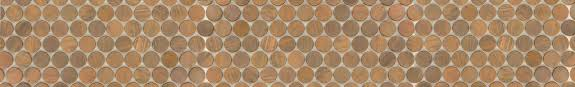 penny round tile penny tile backsplash round glass tile