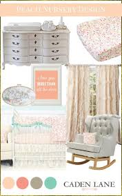 sweet as a peach baby bedding u2013 caden lane