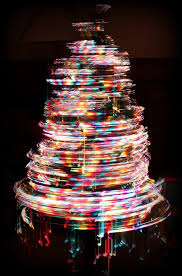 perfect ideas spinning christmas tree rotating 30 second exposure