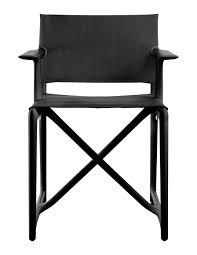 chaise r alisateur réalisateur stanley de magis noir