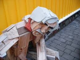 scrap wood sculpture driftwood sculpture insteading