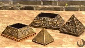 ancient khufu pyramid model creative small ornaments