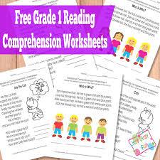 reading comprehension materials grade 1 reading comprehension worksheets reading comprehension