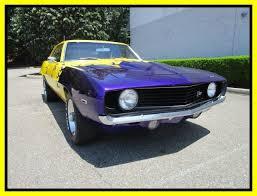 chevrolet camaro automatic 1969 chevrolet camaro z28 yellow coupe automatic
