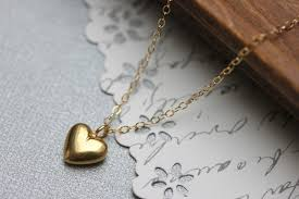 heart gold pendant necklace images Tiny gold heart necklace 14k gold filled or sterling silver jpg