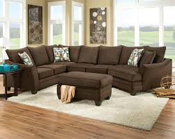 sofas center simmons dark brownrofiber sectional sofabrown