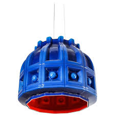 Blue Pendant Light helena tynell blue and orange glass pendant for flygsfors sweden