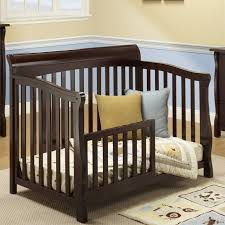 Sorelle Convertible Crib Sorelle Florence 4 In 1 Crib With Mini Rail In Espresso 535 E