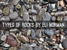 type of rocks by lisa spory