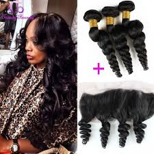pics of loose wave hair trendy beauty hair malaysian loose wave hair with 13x4 lace