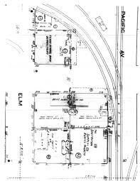 fire escape floor plan cutler plat showing diagram of 2nd floor dal tex building page 1