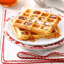 thanksgiving waffle light u0027n u0027 crispy waffles recipe taste of home